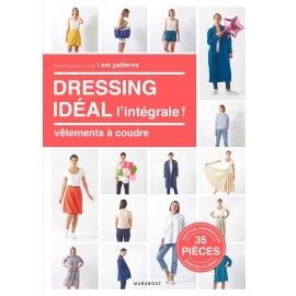 """Livre """"Dressing idéal l'intégrale ! Vêtements à coudre"""""""