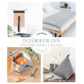 """Livre """"Intérieur zen - couture pour la maison"""""""