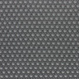 Tissu coton cretonne enduit Saki - kaki x 10cm