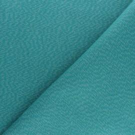 Polycotton fabric - green Cubex x 10cm