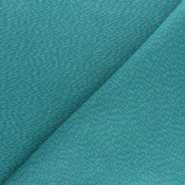Tissu toile polycoton Cubex - rouge x 10cm