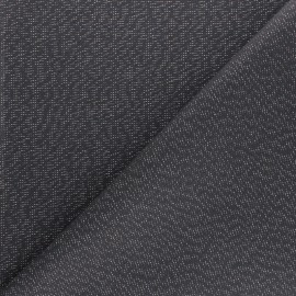 Polycotton fabric - dark grey Cubex x 10cm