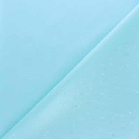 Oeko-tex certified PUL fabric - aqua blue x 10cm