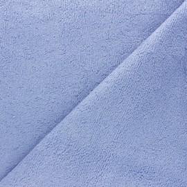 Tissu éponge bébé bambou - Lavande x10cm