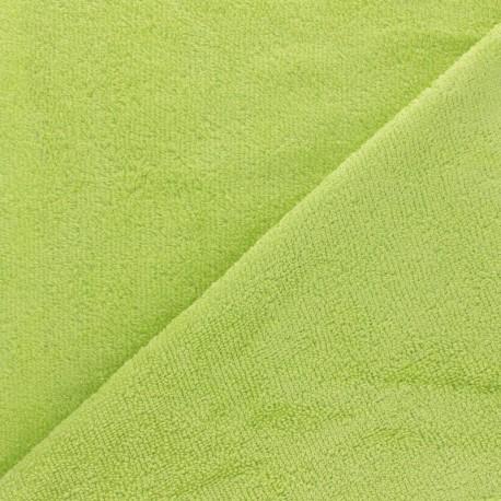 Sponge Zorb fabric - Yellow Baby bamboo x10cm