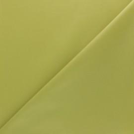 Tissu PUL Oeko-tex - vert anis x 10cm