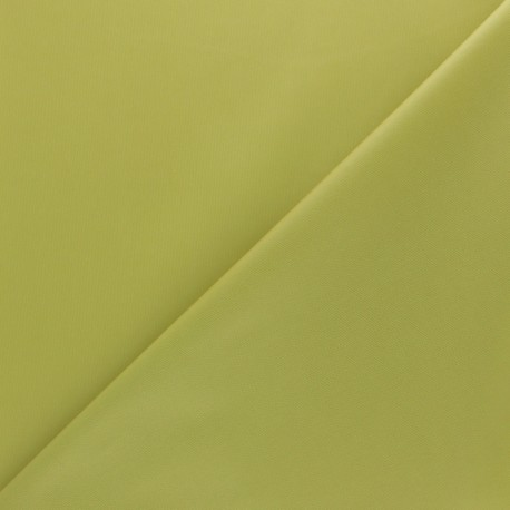 Oeko-tex PUL fabric - lime green x 10cm