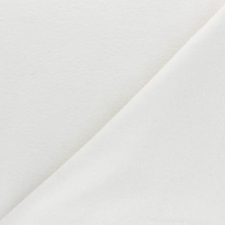 Tissu Bio Polaire - écru x 10cm