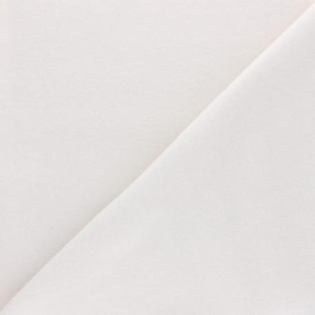 Tissu Bio molleton - écru x 10cm