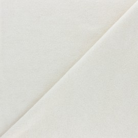 Organic cotton Jersey towel fabric - natural x 10cm