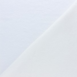 Tissu micro-éponge Tencel double face - écru x10cm