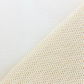 Mesh fabric - linen x 10cm