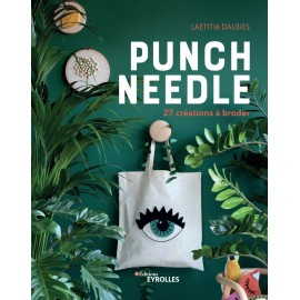 "Book ""Punch Needle - 27 créations à broder"""
