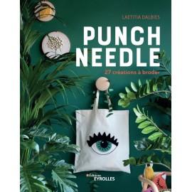 """Livre """"Punch Needle - 27 créations à broder"""""""