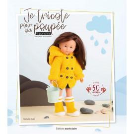 """Livre """"Je tricote pour ma poupée"""""""