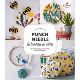 "Livre ""Punch Needle - La broderie en relief"""
