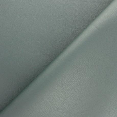 Imitation leather fabric - red Louxor x 10cm