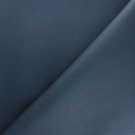 Imitation leather fabric - Navy Blue Louxor x 10cm