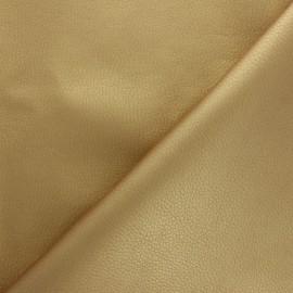 Tissu Simili cuir souple Louxor - rose poudré x 10cm
