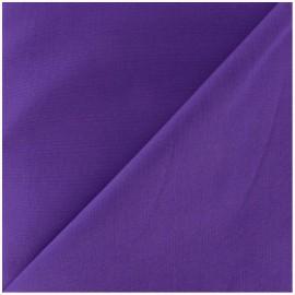 Tissu Coton uni violet