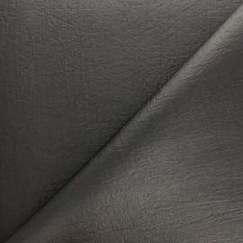 Simili cuir aspect froissé Nicky - perle x 10cm