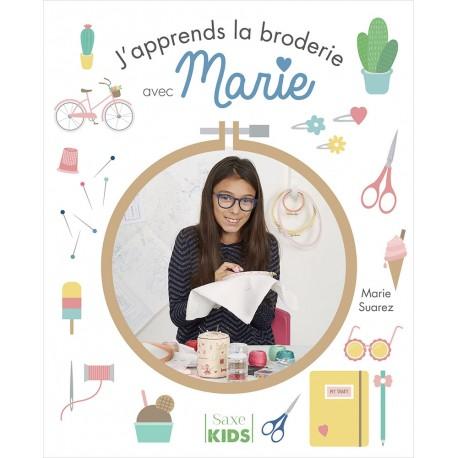 """Livre """"J'apprends la broderie avec Marie"""""""