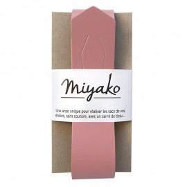 Anse en cuir Miyako - Blush