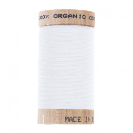 Organic Sewing Thread 100m - Off-White