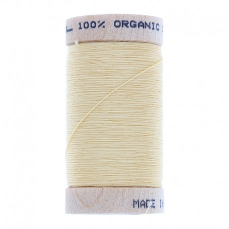 Organic Sewing Thread 100m - Pale Yellow
