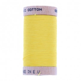 Organic Sewing Thread 100m - Lemon Yellow 4803