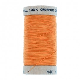 Fil à Coudre Bio 100m - Orange Citrouille 4804