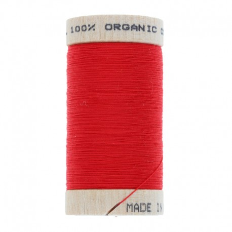 Organic Sewing Thread 100m - Passion Red