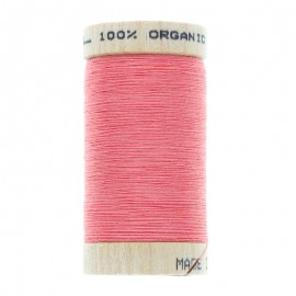 Organic Sewing Thread 100m - Coral Pink 4807