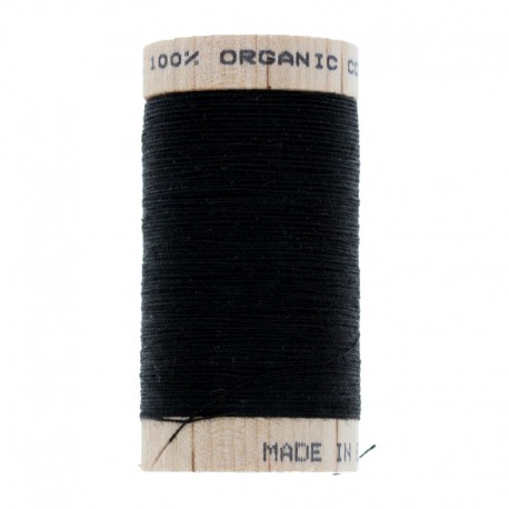 Organic Sewing Thread 100m - Black 4808