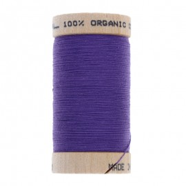 Organic Sewing Thread 100m - Eggplant 4813