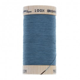 Organic Sewing Thread 100m - Steel 4819