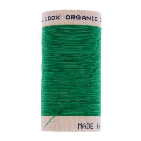 Organic Sewing Thread 100m - Emerald Green 4821