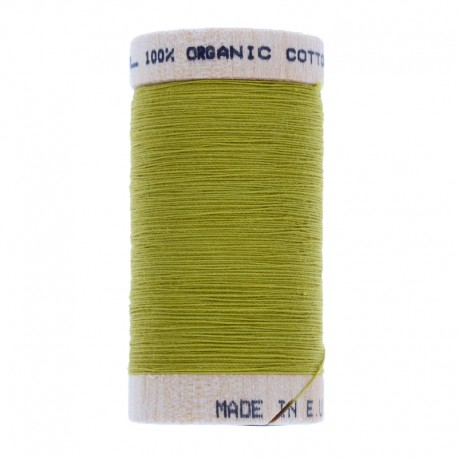 Organic Sewing Thread 100m - Pistachio Green 4823