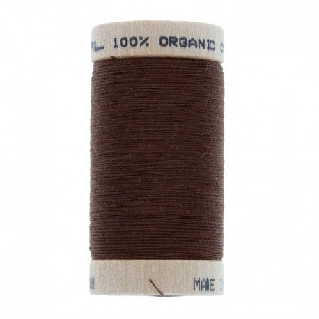 Organic Sewing Thread 100m - Chocolate 4829