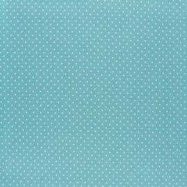 Poppy cotton Fabric - opaline Mini pois x 10cm
