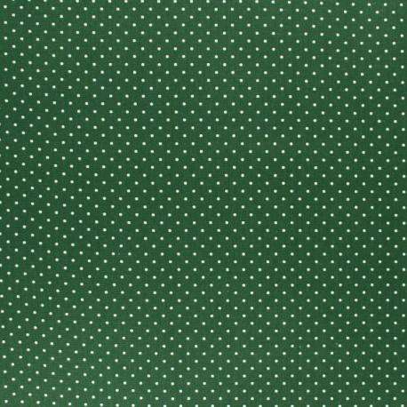 Poppy cotton Fabric - opaline Mini pois x 10cm