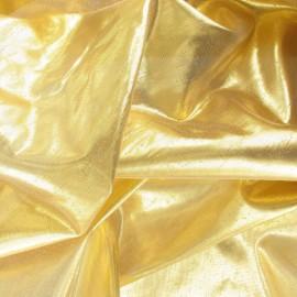 Tissu lamé doré x 1m