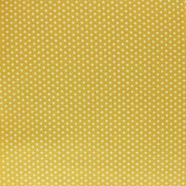 Tissu coton Popeline Poppy - Mini Etoiles - vert sapin x 10cm
