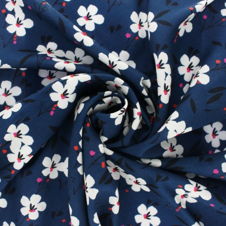 Dashwood studio Rayon fabric - Blue Spring x 10cm