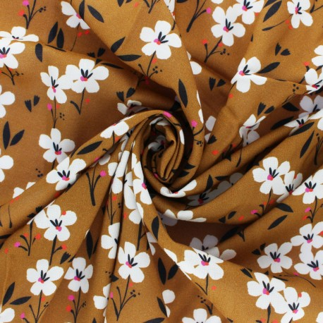 Dashwood studio Rayon fabric - Blue Spring x 10cm