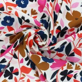 Tissu Rayonne Dashwood studio Secret garden - noir x 10cm