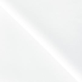 Tissu coton épais blanc x 10 cm