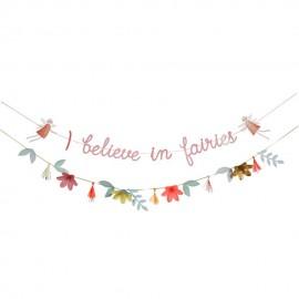 Guirlande Meri Meri - Je crois aux fées