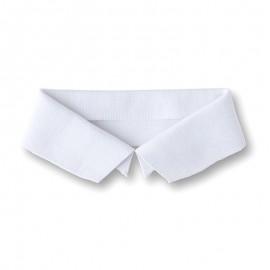 Organic Polo Shirt Collar (41x8,5cm) - White