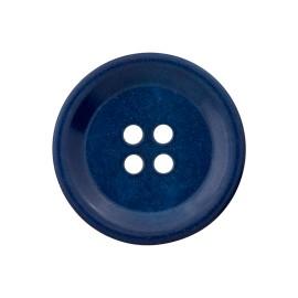 Bouton Corozo Renew - Bleu Cobalt